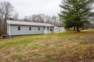 Chapmansboro Single Family Home For Sale: 1203 Pleasant Valley Rd