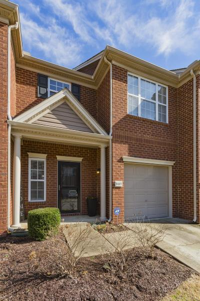 Brentwood Condo/Townhouse Under Contract - Not Showing: 8407 Charbay Cir