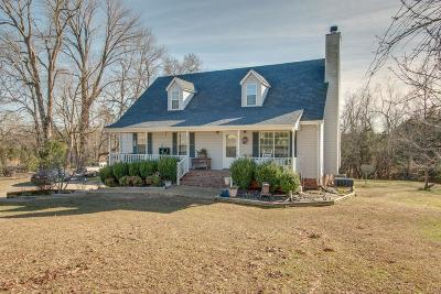 Dickson Single Family Home Under Contract - Not Showing: 1926 Jones Creek Rd