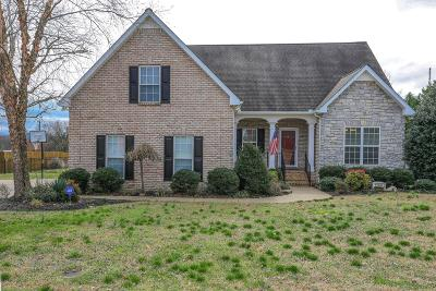 Lascassas Single Family Home Under Contract - Not Showing: 106 Home Pl