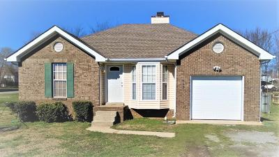 Clarksville Single Family Home For Sale: 653 Buttercup Dr