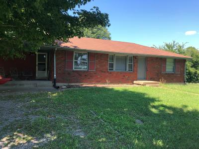 Robertson County Single Family Home For Sale: 2170 Ted Dorris Rd