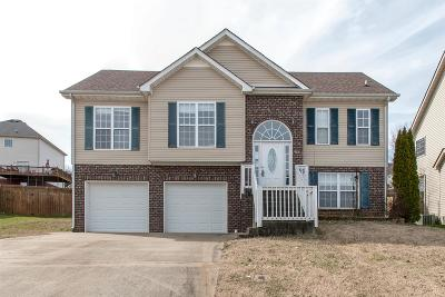 Clarksville Single Family Home Under Contract - Showing: 1176 Viewmont Drive