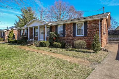 Hermitage Single Family Home For Sale: 202 Weldon Dr