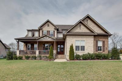 Thompsons Station  Single Family Home Under Contract - Not Showing: 2756 Cabin Run Bridge Rd