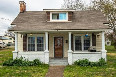 Hohenwald Single Family Home For Sale: 216 S Maple St