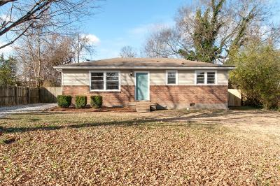 Clarksville Single Family Home Under Contract - Showing: 818 Country Club Dr
