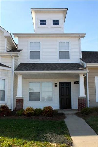 Clarksville Condo/Townhouse Under Contract - Not Showing: 163 Alexander Blvd