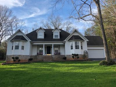 Cookeville Single Family Home Under Contract - Not Showing: 3523 Cottonwood Ct