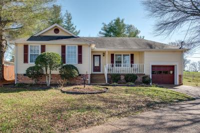 Franklin Single Family Home Under Contract - Not Showing: 106 Flintlock Ct