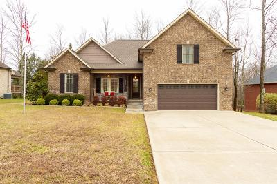 Robertson County Single Family Home Under Contract - Showing: 3028 Gracie Ann Dr