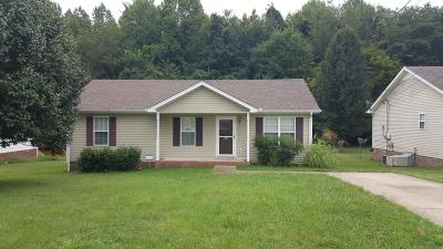 Clarksville Single Family Home For Sale: 153 Monarch Ln