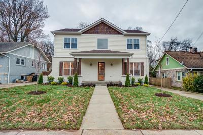 East Nashville Single Family Home For Sale: 407 Scott Ave