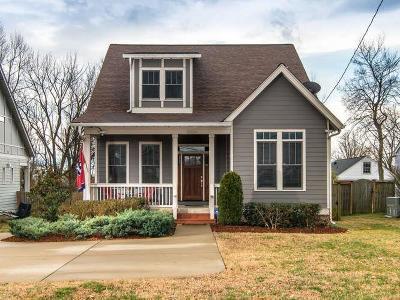 East Nashville Single Family Home For Sale: 1952 A Porter Rd