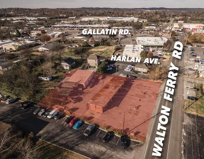 Hendersonville Commercial For Sale: Walton Ferry Rd