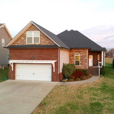 Clarksville Single Family Home Under Contract - Showing: 2182 Fairfax Dr
