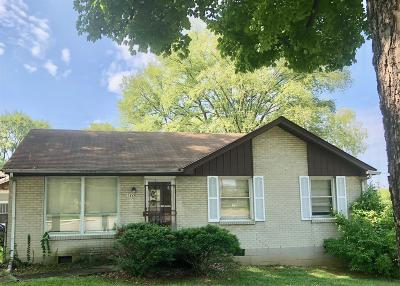 Nashville Single Family Home Active Under Contract: 1220 N 5th St