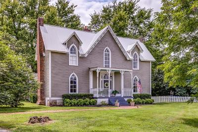 Lewisburg Single Family Home For Sale: 2725 Mooresville Hwy