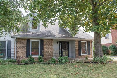 Single Family Home Under Contract - Not Showing: 1816 Lexington Trce
