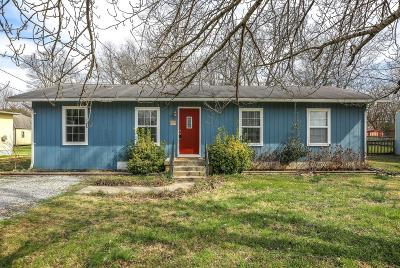 Single Family Home Under Contract - Not Showing: 1610 Graybar Ln