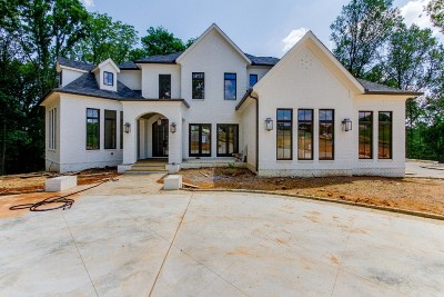 College Grove Single Family Home For Sale: 5020 Hilltop Ln, Lot 7