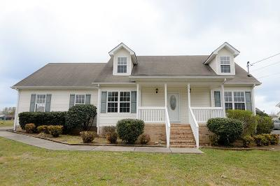 Shelbyville Single Family Home Under Contract - Not Showing: 214 Warren Cir