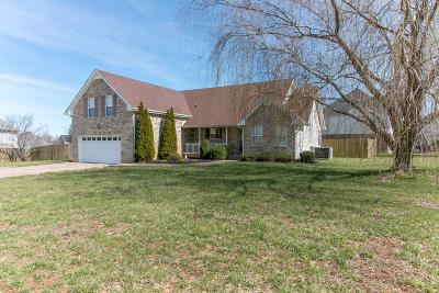 Clarksville Single Family Home Under Contract - Showing: 3503 Clover Hill Dr