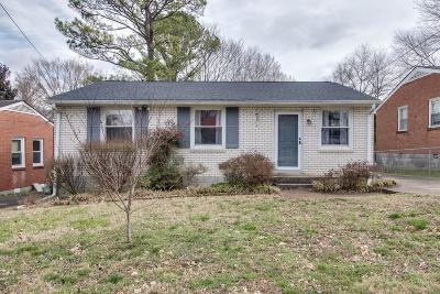 Old Hickory Single Family Home Under Contract - Not Showing: 4232 Woods St