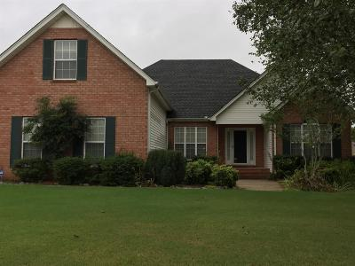 Murfreesboro TN Single Family Home For Sale: $287,900