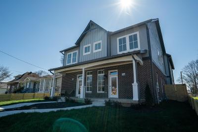 Nashville Single Family Home For Sale: 1825 B 4th Ave N