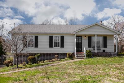 Hendersonville Single Family Home Under Contract - Not Showing: 135 Riverwood Dr