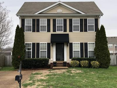 Thompsons Station  Rental For Rent: 1132 Summerville Circle