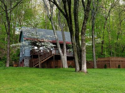 Franklin Single Family Home For Sale: 1108 Hunting Creek Rd