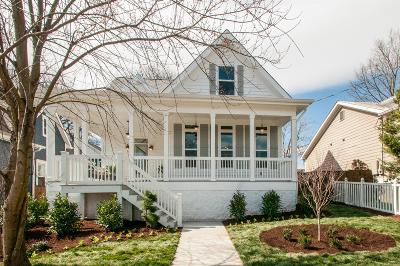 East Nashville Single Family Home Under Contract - Showing: 510 S 12th St