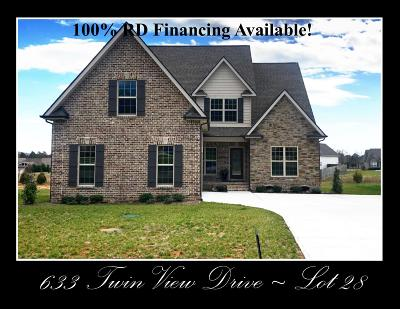 Single Family Home Sold: 633 Twin View Drive - Lot 28