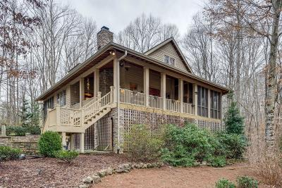 Kingston Springs Single Family Home Under Contract - Not Showing: 1008 Thornblade Dr