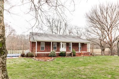Waynesboro Single Family Home Active Under Contract: 4450 Upper Factory Creek Rd