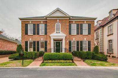 Nashville Single Family Home Under Contract - Not Showing: 47 Concord Park E