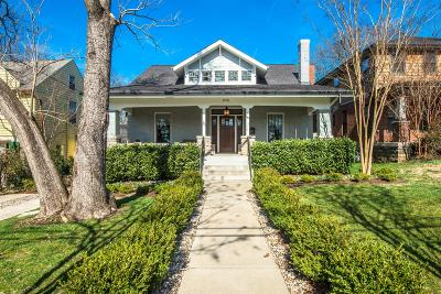 Davidson County Single Family Home For Sale: 1910 Linden Ave