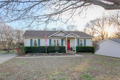 Clarksville Single Family Home Under Contract - Showing: 1024 Tolliver Way