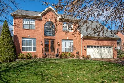 Franklin  Single Family Home Under Contract - Showing: 617 Grange Hill Ct