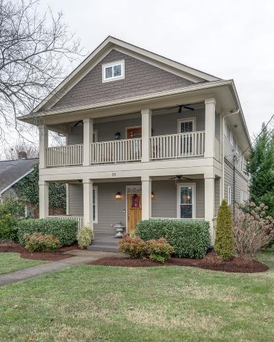 Nashville Single Family Home For Sale: 111 38th Ave N