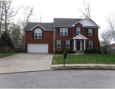 Clarksville Single Family Home Under Contract - Showing: 3426 Old Timber Rd