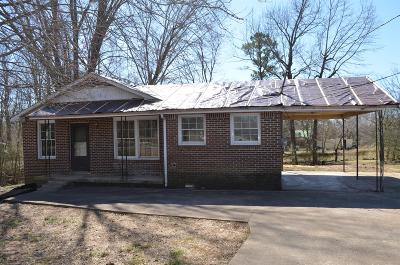 Clarksville Single Family Home Under Contract - Showing: 1312 Gratton Rd