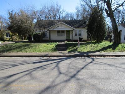Murfreesboro Single Family Home Under Contract - Not Showing: 806 Ewing Blvd