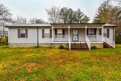 Ashland City Single Family Home For Sale: 1004 Lockertsville Rd