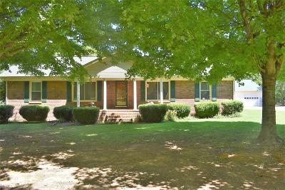 Lewisburg Single Family Home Under Contract - Not Showing: 2072 Springplace Rd