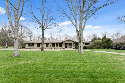 Nashville Single Family Home Under Contract - Showing: 2020 Earlington Dr