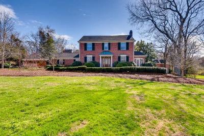 Nashville Single Family Home For Sale: 1159 Gateway Ln