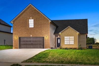 Clarksville Single Family Home Under Contract - Showing: 269 Towes Lane